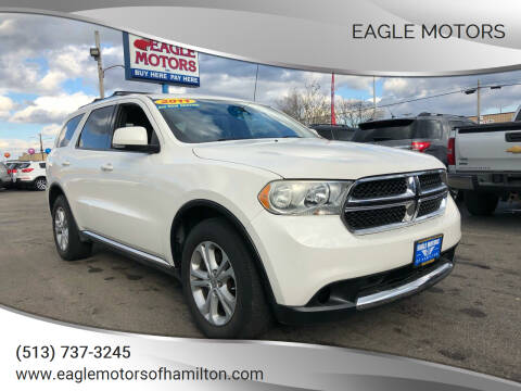 2011 Dodge Durango for sale at Eagle Motors in Hamilton OH