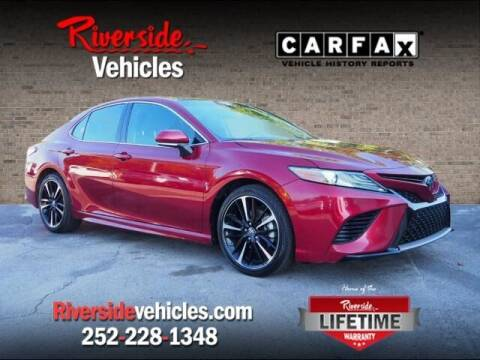 2018 Toyota Camry for sale at Riverside Mitsubishi(New Bern Auto Mart) in New Bern NC