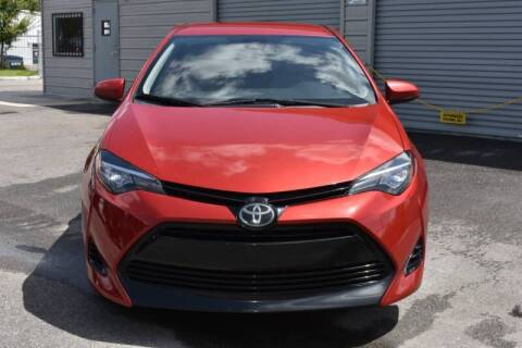 2017 Toyota Corolla for sale at Mix Autos in Orlando FL