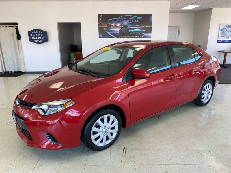 2016 Toyota Corolla for sale at Used Car Outlet in Bloomington IL