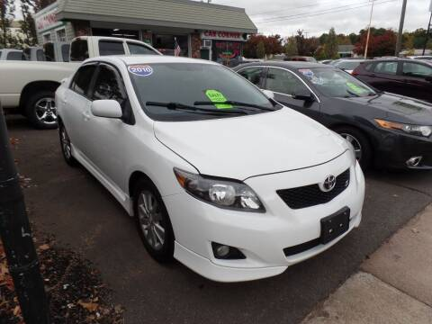 2010 Toyota Corolla for sale at CAR CORNER RETAIL SALES in Manchester CT