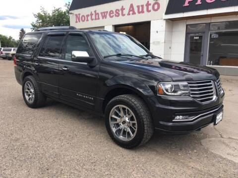 2015 Lincoln Navigator for sale at Northwest Auto Sales & Service Inc. in Meeker CO