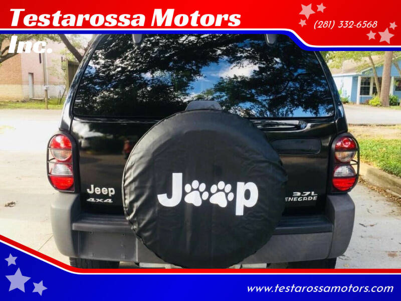 2006 Jeep Liberty for sale at Testarossa Motors Inc. in League City TX