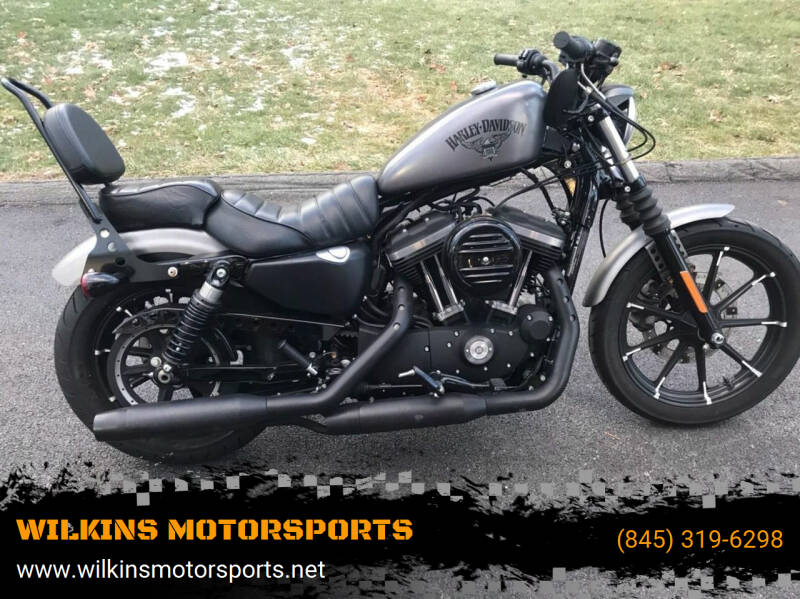 2016 Harley-Davidson Sportster Iron 883 for sale at WILKINS MOTORSPORTS in Brewster NY