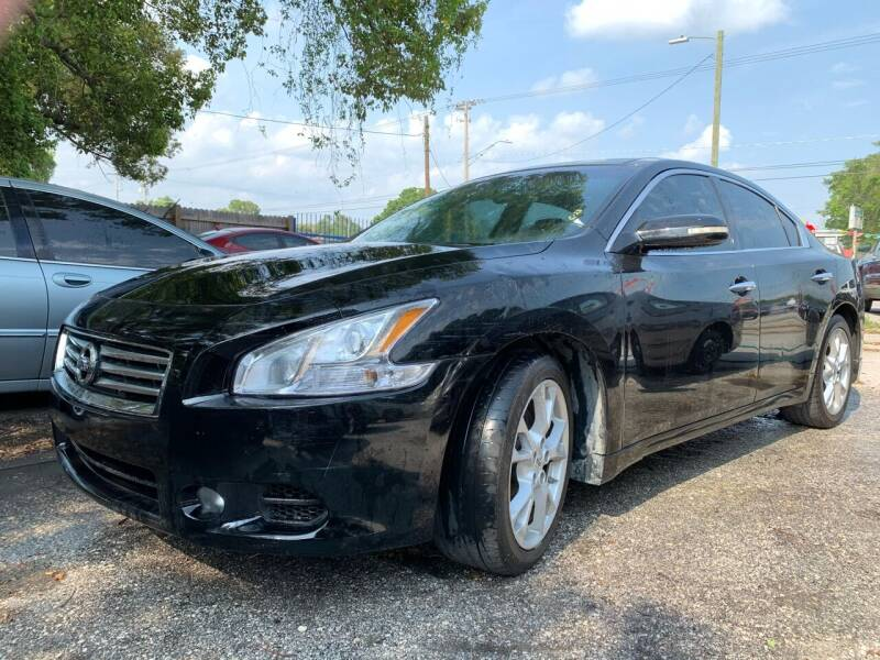 2012 Nissan Maxima for sale at Always Approved Autos in Tampa FL