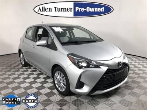 2018 Toyota Yaris for sale at Allen Turner Hyundai in Pensacola FL