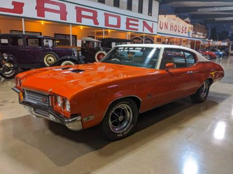 1972 Buick Skylark for sale at Okoboji Classic Cars in West Okoboji IA