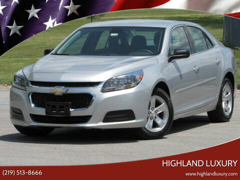 2014 Chevrolet Malibu for sale at Highland Luxury in Highland IN