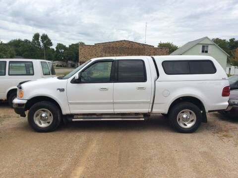 2001 Ford F-150 for sale at Kimpton Auto Sales in Wells MN