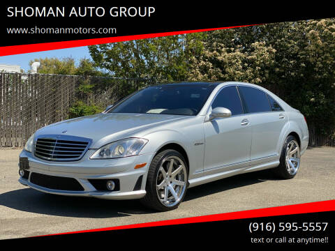 2008 Mercedes-Benz S-Class for sale at SHOMAN AUTO GROUP in Davis CA