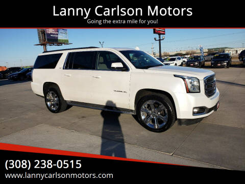 2016 GMC Yukon XL for sale at Lanny Carlson Motors in Kearney NE