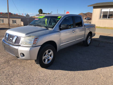 2006 Nissan Titan for sale at Hilltop Motors in Globe AZ