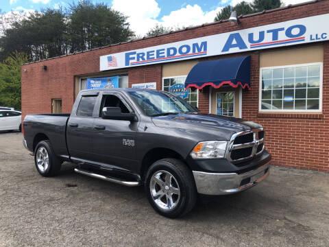 2018 RAM Ram Pickup 1500 for sale at FREEDOM AUTO LLC in Wilkesboro NC