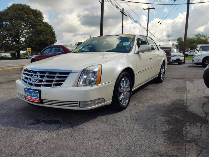 2008 Cadillac DTS for sale at Peter Kay Auto Sales in Alden NY