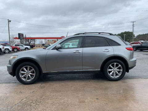 2008 Infiniti FX35 for sale at Smooth Solutions 2 LLC in Springdale AR