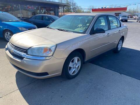 2005 Chevrolet Malibu for sale at Wise Investments Auto Sales in Sellersburg IN
