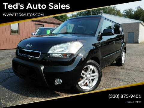 2011 Kia Soul for sale at Ted's Auto Sales in Louisville OH