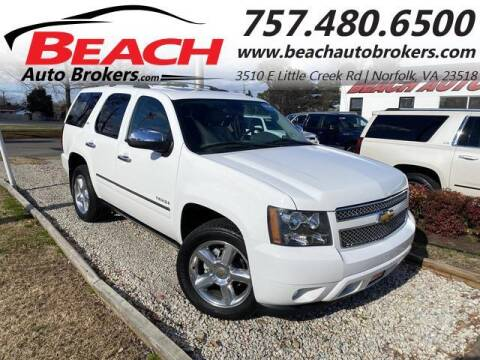 2010 Chevrolet Tahoe for sale at Beach Auto Brokers in Norfolk VA