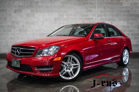 2014 Mercedes-Benz C-Class for sale at J-Rus Inc. in Macomb MI