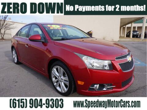2013 Chevrolet Cruze for sale at Speedway Motors in Murfreesboro TN