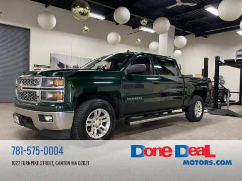 2014 Chevrolet Silverado 1500 for sale at DONE DEAL MOTORS in Canton MA