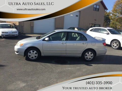 2005 Toyota Corolla for sale at Ultra Auto Sales, LLC in Cumberland RI