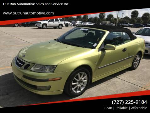2004 Saab 9-3 for sale at Out Run Automotive Sales and Service Inc in Tampa FL