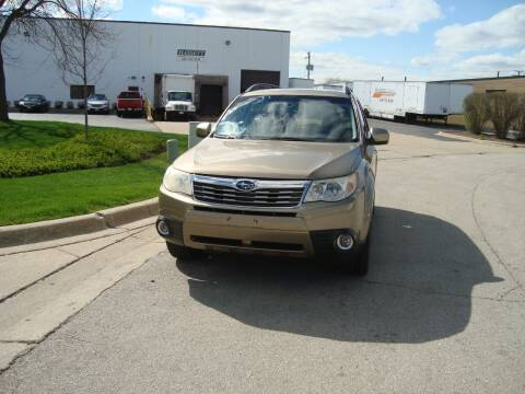 2009 Subaru Forester for sale at ARIANA MOTORS INC in Addison IL