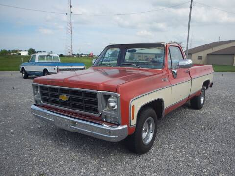 1979 Chevrolet C/K 10 Series for sale at Custom Rods and Muscle in Celina OH