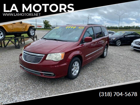 2012 Chrysler Town and Country for sale at LA MOTORS in Alexandria LA