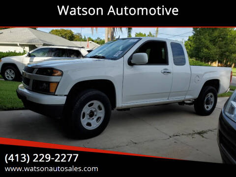 2012 Chevrolet Colorado for sale at Watson Automotive in Sheffield MA
