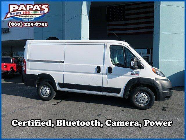 2019 RAM ProMaster Cargo for sale at Papas Chrysler Dodge Jeep Ram in New Britain CT