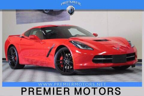 2014 Chevrolet Corvette for sale at Premier Motors in Hayward CA