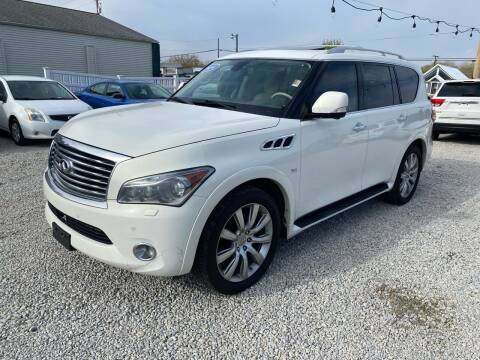 2014 Infiniti QX80 for sale at Davidson Auto Deals in Syracuse IN