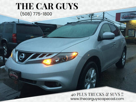 2014 Nissan Murano for sale at The Car Guys in Hyannis MA