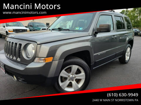 2014 Jeep Patriot for sale at Mancini Motors in Norristown PA