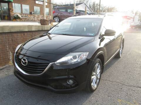 2013 Mazda CX-9 for sale at WORKMAN AUTO INC in Pleasant Gap PA
