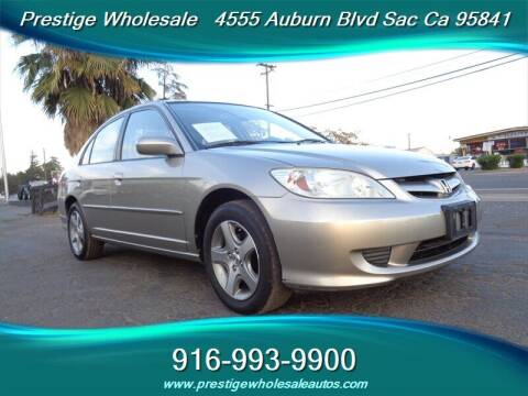 2004 Honda Civic for sale at Prestige Wholesale in Sacramento CA