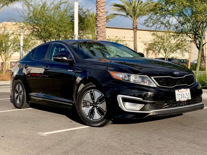 2013 Kia Optima Hybrid for sale at Car Hero LLC in Santa Clara CA