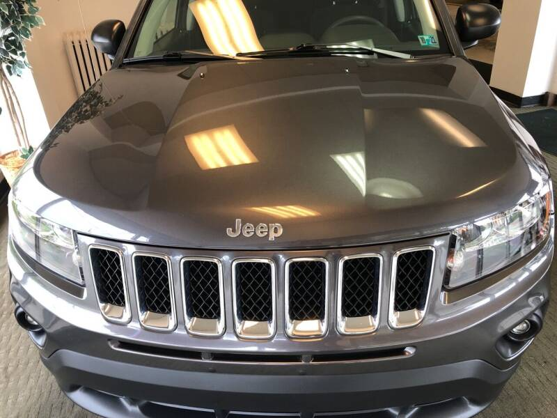 2017 Jeep Compass for sale at Berwyn S Detweiler Sales & Service in Uniontown PA