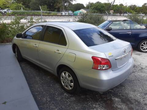 2008 Toyota Yaris for sale at Easy Credit Auto Sales in Cocoa FL