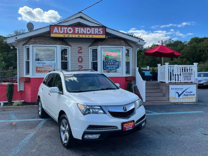 2012 Acura MDX for sale at Auto Finders Unlimited LLC in Vineland NJ
