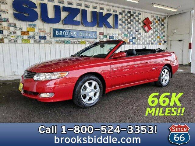 2002 Toyota Camry Solara for sale at BROOKS BIDDLE AUTOMOTIVE in Bothell WA