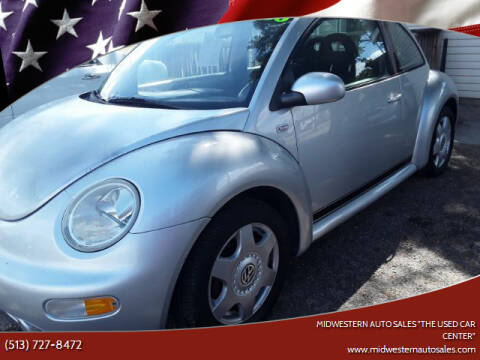 "2001 Volkswagen New Beetle for sale at MIDWESTERN AUTO SALES        ""The Used Car Center"" in Middletown OH"