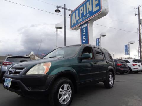 2003 Honda CR-V for sale at Alpine Auto Sales in Salt Lake City UT