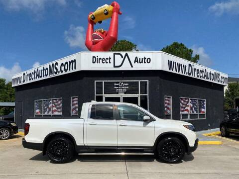 2017 Honda Ridgeline for sale at Direct Auto in D'Iberville MS