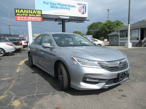 2017 Honda Accord for sale at Hanna's Auto Sales in Indianapolis IN
