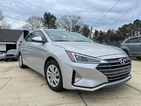 2019 Hyundai Elantra for sale at Alpha Car Land LLC in Snellville GA