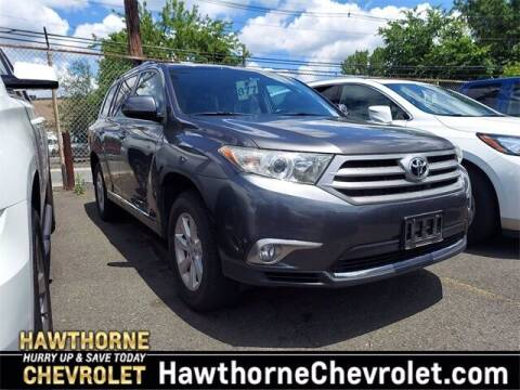 2013 Toyota Highlander for sale at Hawthorne Chevrolet in Hawthorne NJ