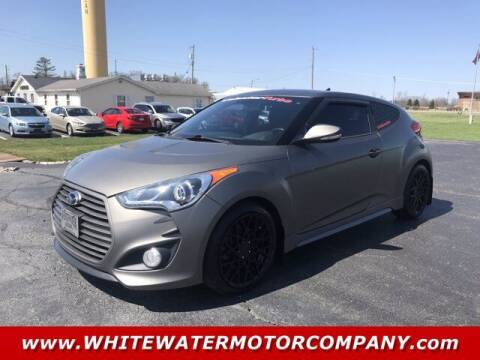 2013 Hyundai Veloster for sale at WHITEWATER MOTOR CO in Milan IN